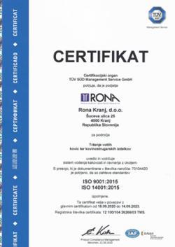 certifikat iso9001/14001